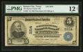 National Bank Notes:Texas, Karnes City, TX - $5 1902 Plain Back Fr. 607 The Karnes County NB Ch. # 5614. ...