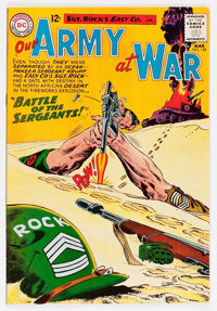Our Army at War #128 (DC, 1963) Condition: FN+