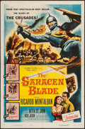"Movie Posters:Adventure, The Saracen Blade & Other Lot (Columbia, 1954). One Sheets (2)(27"" X 41""). Adventure.. ... (Total: 2 Items)"