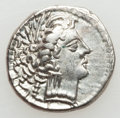 Ancients:Celtic, Ancients: NORTHERN ITALIAN CELTS. Lombard Plain. Ca. late 2ndcentury BC. AR drachm (3.22 gm)....