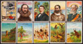 "Non-Sport Cards:Lots, 1910's Hassan T53 Cowboy Series, T73 Hassan ""Indian Life..."" andT118 Great Explorers Collection (71). ..."