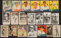 Baseball Cards:Lots, 1916-1941 Vintage Baseball Card Collection (18) With HoFers and Scarcities. ...
