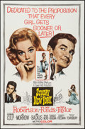 "Movie Posters:Comedy, Sunday in New York (MGM, 1964). One Sheet (27"" X 41""). Comedy.. ..."