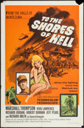 "Movie Posters:War, To the Shores of Hell & Other Lot (Crown International, 1966).One Sheets (2) (27"" X 41""). War.. ... (Total: 2 Items)"