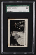 Football Cards:Singles (Pre-1950), 1926 Shotwell's Candy Bars Red Grange #5 SGC 20 Fair 1.5....