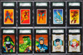 Non-Sport Cards:Sets, 1979-1999 Marvel/Dark Horse Comic Heroes Complete Card Sets Trio(3) - Each #2 or #3 on the SGC Set Registry. ...