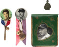 Baseball Collectibles:Others, Mantle, DiMaggio and Gehrig Memorabilia Lot of 4....