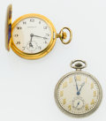 Timepieces:Pocket (post 1900), Caravelle & Standard Pocket Watches. ... (Total: 2 Items)