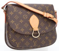 Luxury Accessories:Bags, Louis Vuitton Classic Monogram Saint Cloud MM Crossbody Bag. ...