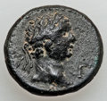 Ancients:Roman Provincial , Ancients: LYCIA. Attalea. Nero (AD 54-68). Æ 20mm (6.43 gm)....