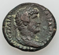Ancients:Ancient Lots  , Ancients: MACEDONIAN KINGDOM - ROMAN PROVINCIAL. Lot of two (2) Æand BI coins.... (Total: 2 coins)