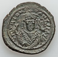 Ancients:Byzantine, Ancients: Tiberius II Constantine (AD 578-582). Æ follis (16.85gm)....