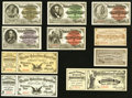 Miscellaneous:Other, 1893 World's Columbian Exposition Admittance Tickets with RareCaxton Envelope.. ... (Total: 11 items)