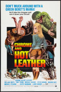 "Movie Posters:Exploitation, Chrome and Hot Leather (American International, 1971). One Sheet (27"" X 41""). Exploitation.. ..."