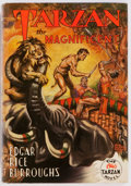 Books:Science Fiction & Fantasy, Edgar Rice Burroughs. Tarzan the Magnificent. Edgar RiceBurroughs, Inc., 1939. First edition. Illustrated by Jo...