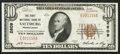 National Bank Notes:Pennsylvania, Saltsburg, PA - $10 1929 Ty. 1 The First NB Ch. # 2609. ...
