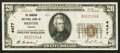 National Bank Notes:Virginia, Bristol, VA - $20 1929 Ty. 1 The Dominion NB Ch. # 4477. ...