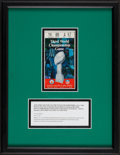 Football Collectibles:Tickets, 1969 Super Bowl III Ticket Stub - White Variation....