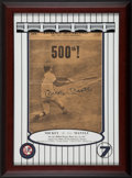 Baseball Collectibles:Others, Mickey Mantle Signed Daily News 500 HR Newspaper Display....
