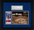 Baseball Collectibles:Tickets, 2009 World Series Game 1 Full Ticket Display....