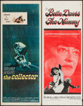 """Movie Posters:Thriller, The Collector & Other Lot (Columbia, 1965). Inserts (2) (14"""" X36""""). Thriller.. ... (Total: 2 Items)"""