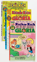 Modern Age (1980-Present):Humor, Richie Rich and Gloria File Copies Group (Harvey, 1977-82)Condition: Average NM-.... (Total: 68 Comic Books)