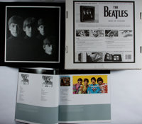 [The Beatles]. Box of Vision. LIMITED TO 7,200 COPIES. Set of two books stored inside a beautiful black linen case th