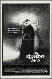 "The Elephant Man (Paramount, 1980). One Sheet (27"" X 41""). Drama"