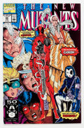 Modern Age (1980-Present):Superhero, The New Mutants #98 (Marvel, 1991) Condition: NM-....
