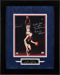 "Basketball Collectibles:Photos, Elvin Hayes ""Pistol Pete was the Greatest Ever!"" Signed OversizedPhotograph...."