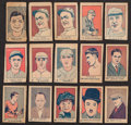 Baseball Cards:Sets, 1928 - 1928 W512 & W513 Anonymous Complete Set (100) Plus Four Baseball Variations. ...
