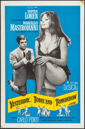 "Movie Posters:Foreign, Yesterday, Today and Tomorrow & Other Lot (Embassy, 1964). One Sheets (2) (27"" X 41""). Foreign.. ... (Total: 2 Items)"