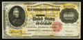 Large Size:Gold Certificates, Fr. 1225h $10,000 1900 Gold Certificate Very Fine+.. ...