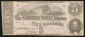 Confederate Notes:1862 Issues, T53 $5 1862 PF-21 Cr. 459.. ...