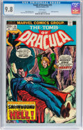 Bronze Age (1970-1979):Horror, Tomb of Dracula #19 (Marvel, 1974) CGC NM/MT 9.8 White pages....