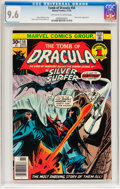 Bronze Age (1970-1979):Horror, Tomb of Dracula #50 (Marvel, 1976) CGC NM+ 9.6 Off-white to whitepages....