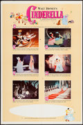 """Movie Posters:Animation, Cinderella & Others Lot (Buena Vista, R-1965). One Sheets (2)(27"""" X 41"""") Style B & Regular. Animation.. ... (Total: 2 Items)"""