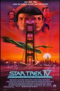 "Movie Posters:Science Fiction, Star Trek IV: The Voyage Home (Paramount, 1987). One Sheet (27"" X40""). Science Fiction.. ..."