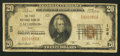 National Bank Notes:Ohio, Gallipolis, OH - $20 1929 Ty. 1 The First NB Ch. # 136. ...
