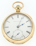 Timepieces:Pocket (post 1900), Waltham 17 Jewel 18 Size Pocket Watch. ...