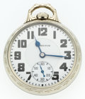 Timepieces:Pocket (post 1900), Hamilton 21 Jewel Elinvar Series 992 Pocket Watch. ...