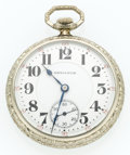 Timepieces:Pocket (post 1900), Hamilton 23 Jewel Series 950 Open Face Pocket Watch. ...