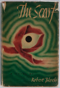 Books:Science Fiction & Fantasy, Robert Bloch. The Scarf. New York: The Dial Press, 1947. First edition. Publisher's binding and dust jacket. Spine s...