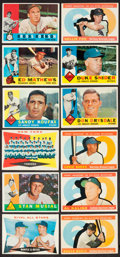 Baseball Cards:Sets, 1960 Topps Baseball Partial Set (478/572) With 45 High Numbers. ...