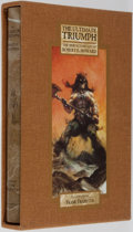 Books:Science Fiction & Fantasy, Robert Howard. LIMITED. The Ultimate Triumph. Illustrated by Frank Frazetta. London: Wandering Star, [1999]. Limited...