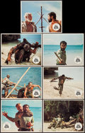 "Movie Posters:War, Hell in the Pacific (Cinerama Releasing, 1968). Lobby Cards (7)(11"" X 14""). War.. ... (Total: 7 Items)"