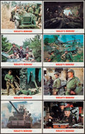 "Movie Posters:War, Kelly's Heroes (MGM, 1970). Lobby Card Set of 8 (11"" X 14""). War..... (Total: 8 Items)"