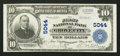 National Bank Notes:Pennsylvania, Grove City, PA - $10 1902 Plain Back Fr. 632 The First NB Ch. #5044. ...