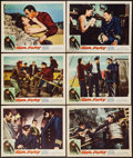"Movie Posters:Adventure, Sea Fury (Lopert, 1959). Lobby Cards (6) (11"" X 14""). Adventure..... (Total: 6 Items)"