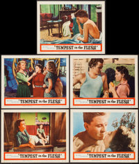 """Tempest in the Flesh & Other Lot (Peacemaker, 1957). Lobby Cards (13) (11"""" X 14""""). Foreign. ... (Total..."""
